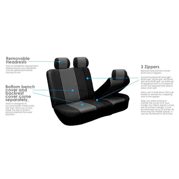 Astonishing Shop Fh Group Pu Leather Gray Airbag Compatible Racing Seat Andrewgaddart Wooden Chair Designs For Living Room Andrewgaddartcom