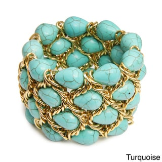 Saachi Stone Chain Bracelet (China)