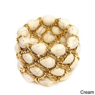 Saachi Stone Chain Bracelet (China)