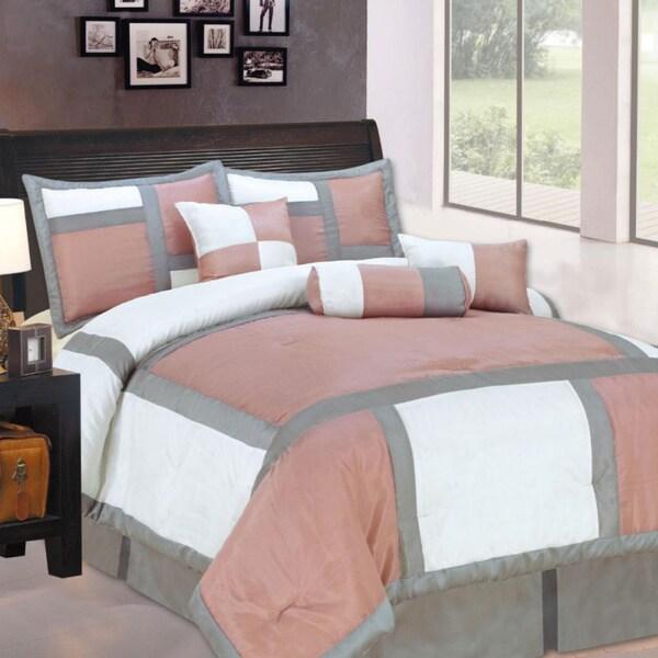 Holden Rose 7-piece Luxurious Comforter Set