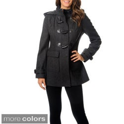 LBD Laundry By Design Women's Toggle Wool Coat