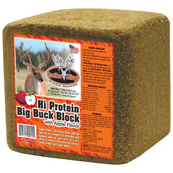 Antler King Hi Protein Big Buck Block Free Shipping