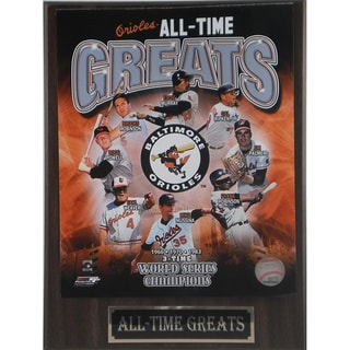Baltimore Orioles 'All Time Greats' Plaque