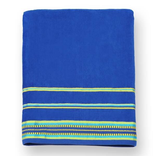 Kaufman Velour Oversize Beach Pool Towels Solid Color