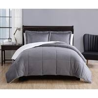 Laurel Creek Ainsley Micro Mink Sherpa 3-piece Comforter Set