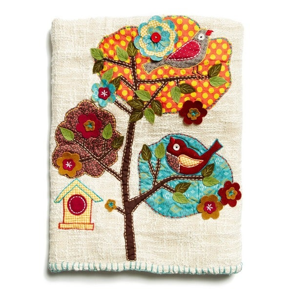 Cute Birdie 50X60-Inch Throw