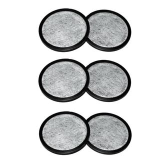 Mr. Coffee WFF Replacement Water Filter Discs- Set of 6 Total Filters