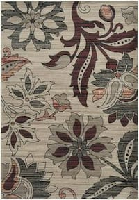 Rizzy Home Bay Side Collection Power-Loomed Accent Rug - 5'3 x 7'7