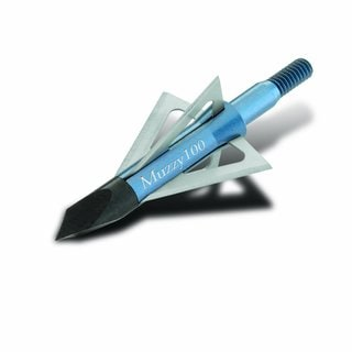 Muzzy 100 Grain 4-Blade Screw-In Broadhead