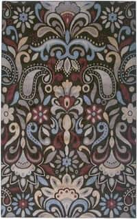 Rizzy Home Bay Side Collection Power-loomed Accent Rug - 6'7 x 9'6