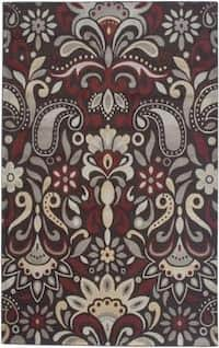 "Rizzy Home Bay Side Collection Power-loomed Accent Rug - 5'3"" x 7'7"""