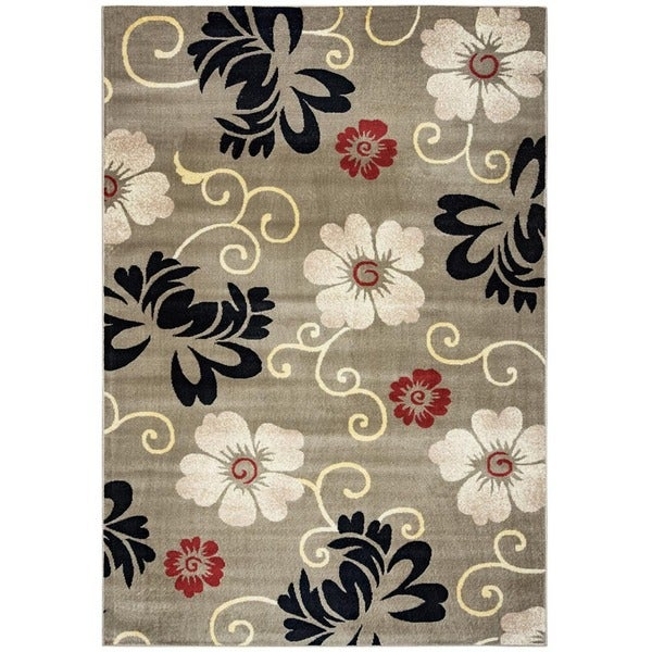 Rizzy home bay side collection power loomed accent rug 5 for Home accents rug collection