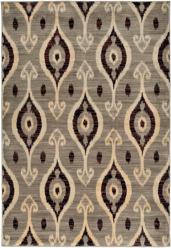 """Rizzy Home Bay Side Collection Power-loomed Accent Rug (6'7 x 9'6) - 6'7"""" x 9'6"""""""