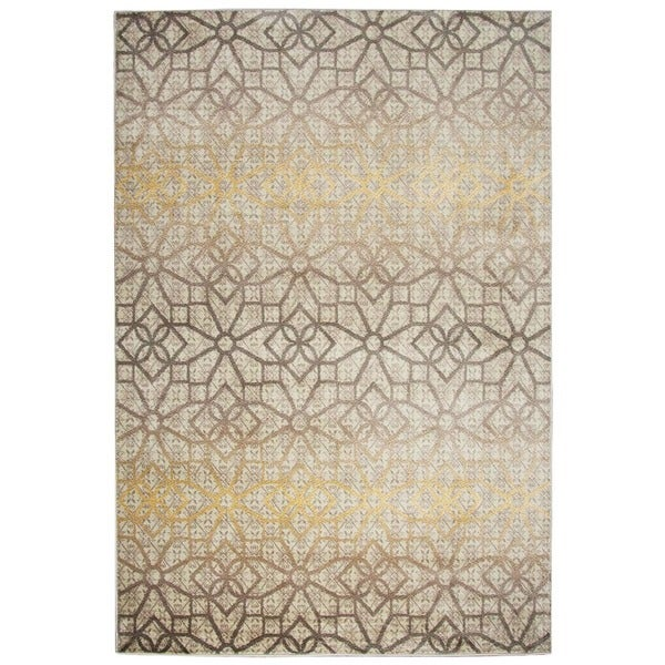 """Rizzy Home Bay Side Collection Power-loomed Accent Rug (5'3 x 7'7) - 5'3"""" x 7'7"""""""