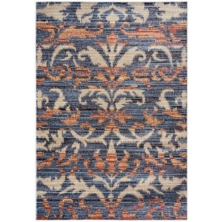 "Rizzy Home Bay Side Collection Power-loomed Accent Rug (5'3 x 7'7) - 5'3"" x 7'7"""