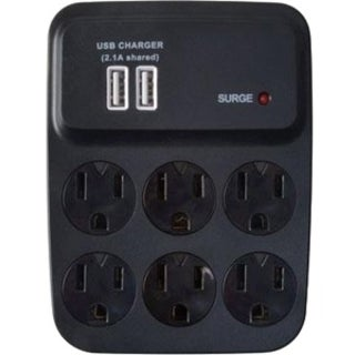 Woods 8-Outlets Surge Suppressor