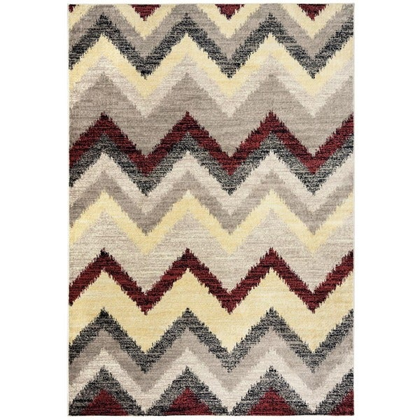 Rizzy Home Bay Side Collection Power-loomed Accent Rug (9'2 x 12'6) - 9'2 x 12'6