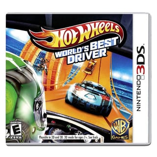 Nintendo 3DS - Hot Wheels: Worlds Best Driver