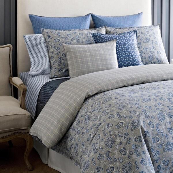 Tommy Hilfiger Princeton Paisley 3-piece Cotton Reversible Comforter Set