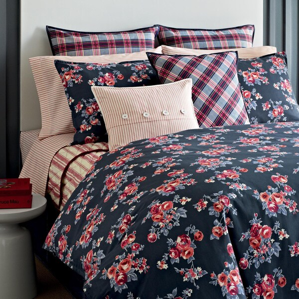 Tommy Hilfiger Rustic Floral 3-piece Cotton Reversible Comforter Set