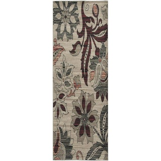 Rizzy Home Bay Side Collection Power-loomed Accent Rug (2'3 x 7'7)