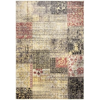 Rizzy Home Bay Side Collection Power-loomed Accent Rug (3'3 x 5'3) - 3'3 x 5'3