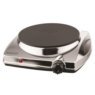 Brentwood Electric Hot Plate 1000W SS