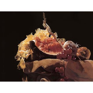 'Still Life of Fruits' Giclee Print Canvas Art
