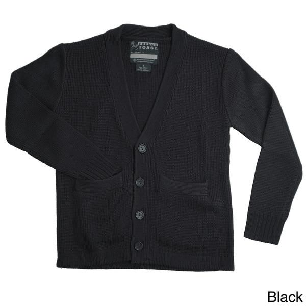 French Toast Boys V-neck Cardigan Sweater