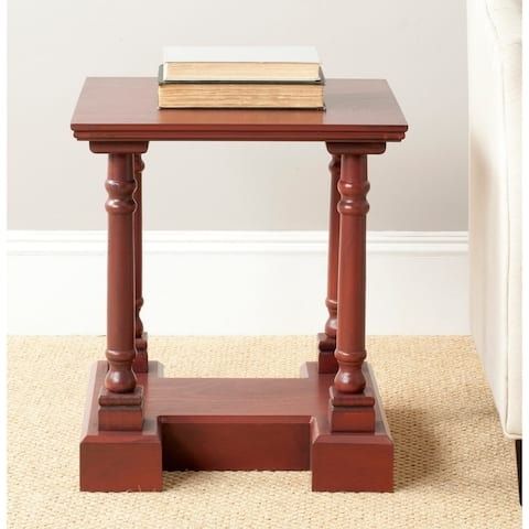 Safavieh Endora Red End Table - 0