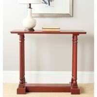 Safavieh Regan Red Console Table
