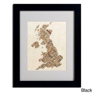 Michael Tompsett 'United Kingdom II' Framed Matted Art