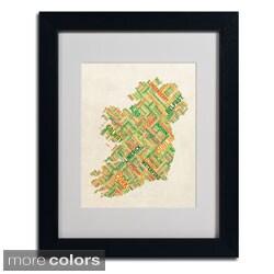 Michael Tompsett 'Ireland I' Framed Matted Art