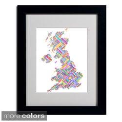 Michael Tompsett 'United Kingdom III' Framed Matted Art