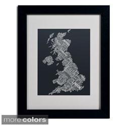 Michael Tompsett 'United Kingdom V' Framed Matted Art