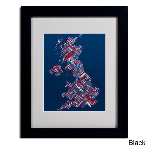 Michael Tompsett 'United Kingdom VI' Framed Matted Art