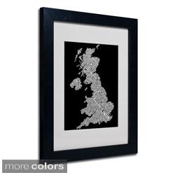 Michael Tompsett 'United Kingdom VIII' Framed Matted Art