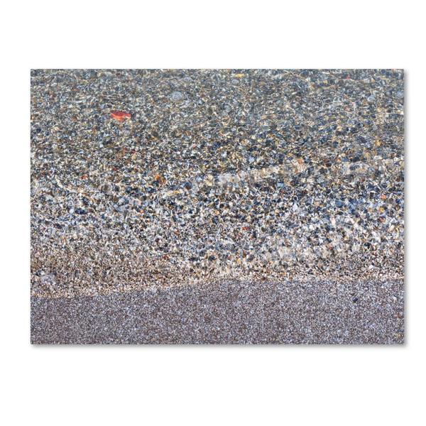 Kurt Shaffer 'Lakeshore Abstract' Canvas Art - Multi