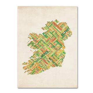 Michael Tompsett 'Ireland I' Canvas Art