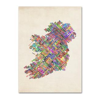 Michael Tompsett 'Ireland II' Canvas Art