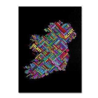 Michael Tompsett 'Ireland V' Canvas Art