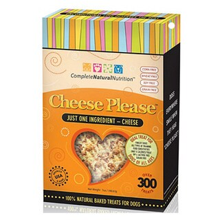 Complete Natural Nutrition Cheese Please Baked Cheddar Treat 7oz Box