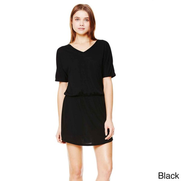 bf1c981839916 Shop Bella Women's Flowy V-neck Dress - Free Shipping On Orders Over ...