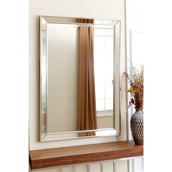 Abbyson Ariel Rectangle Wall Mirror Free Shipping Today