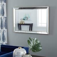 Abbyson Ariel Rectangle Wall Mirror - Gold
