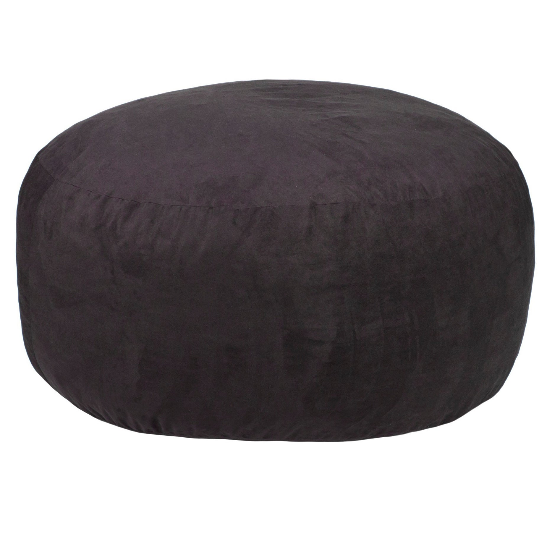 Gold Medal Comfort Cloud 4-foot Foam Bean Bag (Black)