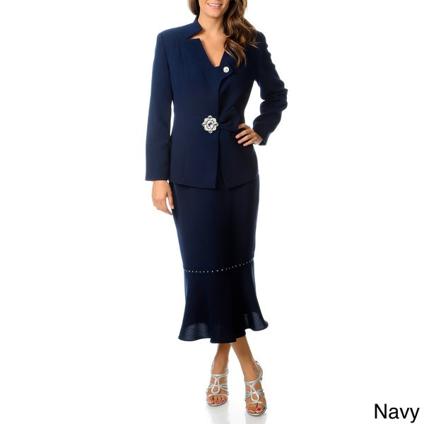 Womens Long Skirt Suits 105