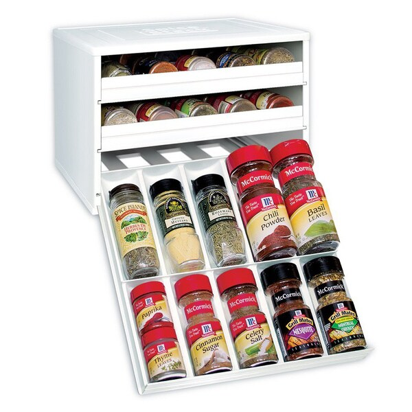 Shop 3 Drawer Spice Organizer Free Shipping Today