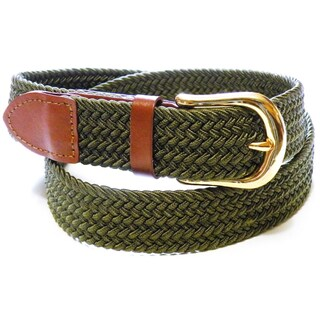 Men's Woven Stretch Belt (5 options available)