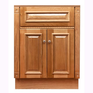 "24""x18""Oak Bathroom Vanity Cabinet"
